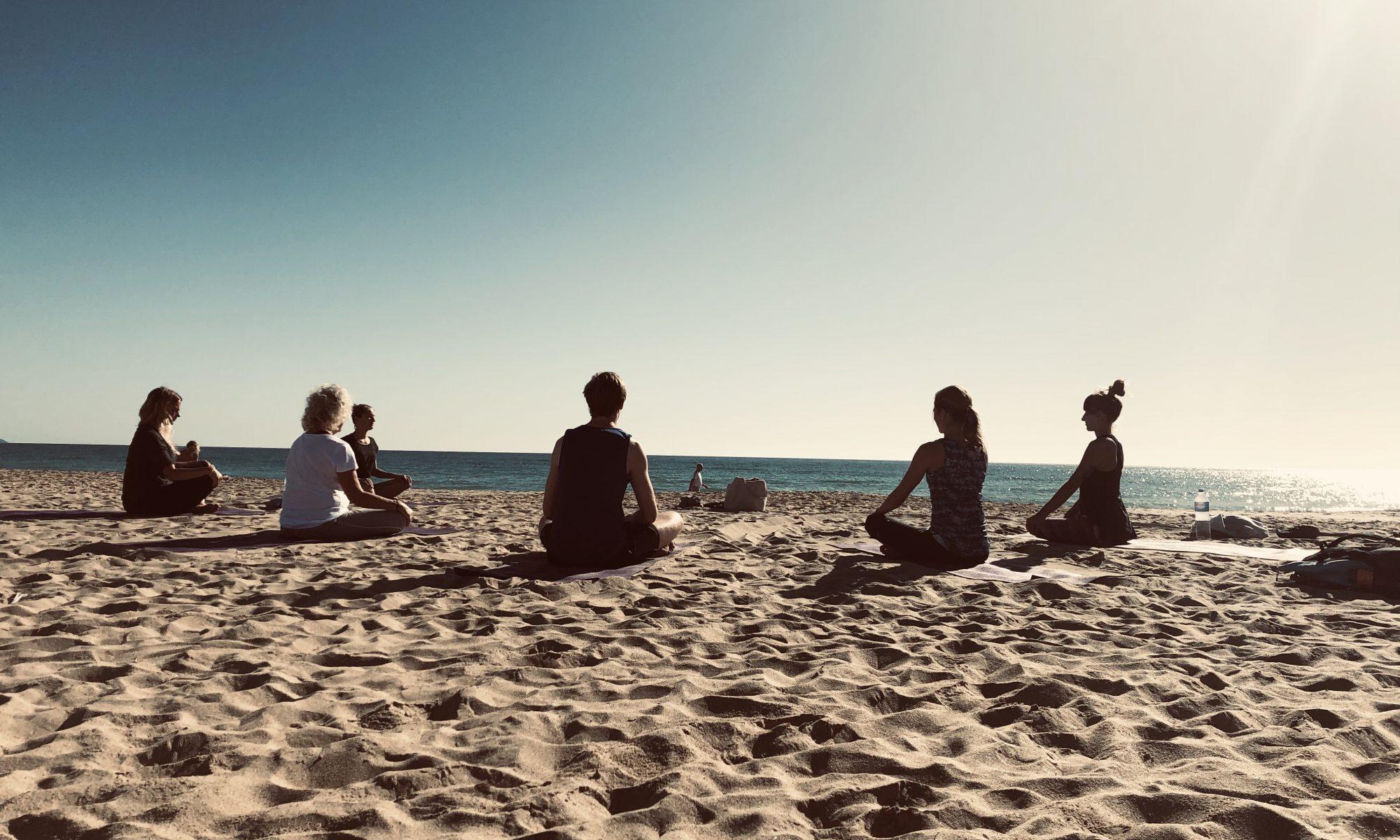Yoga Classes Beach Costa Calma